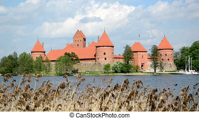 trakai castle island lake
