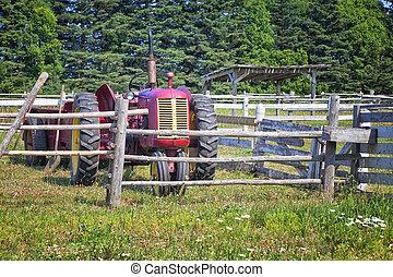 traktor, årgång