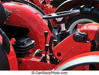 traktor, pilótafülke