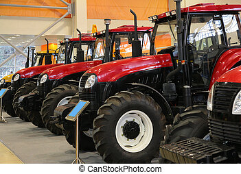 traktor, ukázka