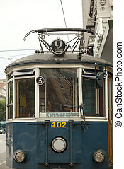 Tram for Opicina - View of Tram for Opicina, Trieste