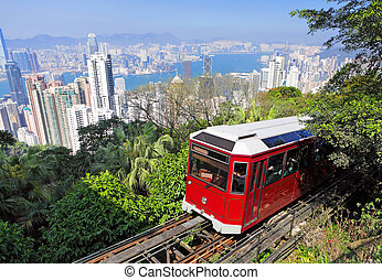 tram, hong, pic, kong