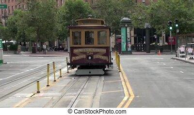 Tram in San Francisco - tram ride in san francisco usa