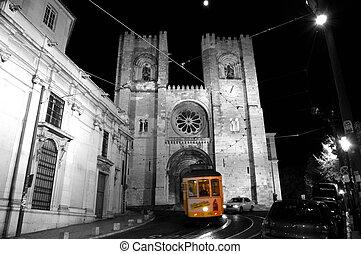 tram, lissabon