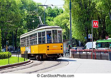 Tram, Milan