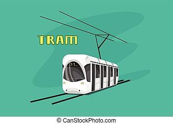 Tram, Modern City Public Transport