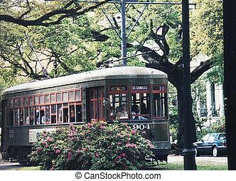 tram, nouveau, 2002, orléans