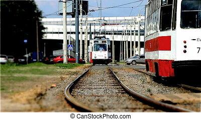 tram - Public urban transport