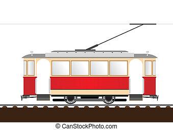 tram, retro