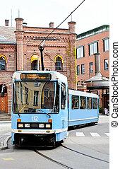 tram, strada