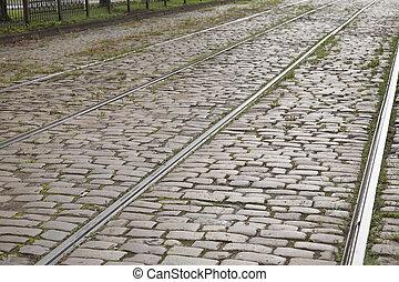 Tram Tracks, Riga