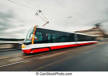 tram, transport commun