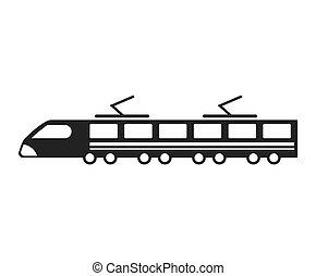tram transport public icon
