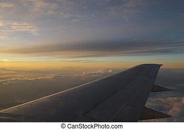 tramonto, ala