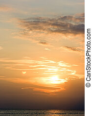 tramonto, bali