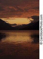 tramonto, scenario