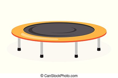 Trampoline icon on white background