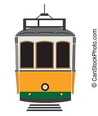 tramway, lisbonne