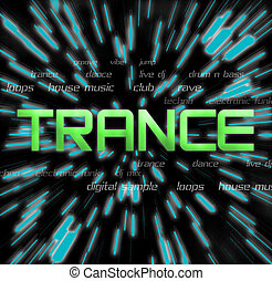 trance montage - trance typography montage