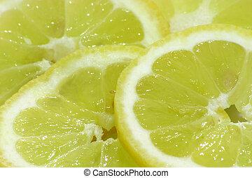 tranches citron