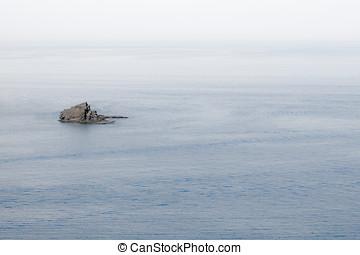 Tranquil scene in the mediteranean - Tranquil scene in the ...
