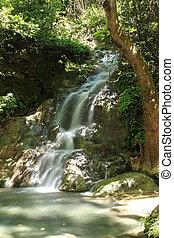 Tranquil waterfall Turkey