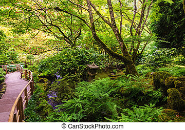 tranquillo, giardino giapponese