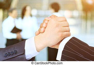transaction., handshake., συμπέρασμα