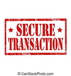transaction-stamp, säkra