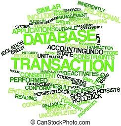 transaktion, datenbank