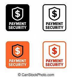 transaktion, skydd, betalning, informationer säkerhet