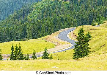 Transalpina, Parang Mountains, Romania