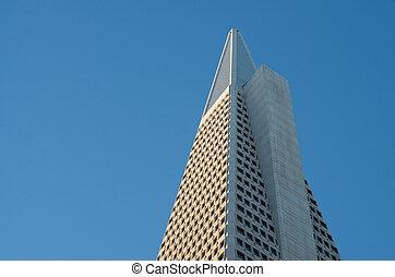 Transamerica Pyramid - Famous Transamerica Landmark Building...