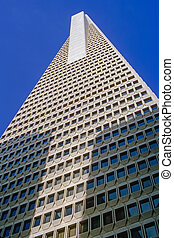 Transamerica Pyramid in San Francisko