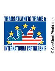 transatlantique, -, investissement, commercer, ttip, association