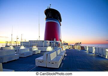 transbordador, crucero