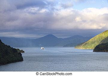 transbordador, nueva zelandia