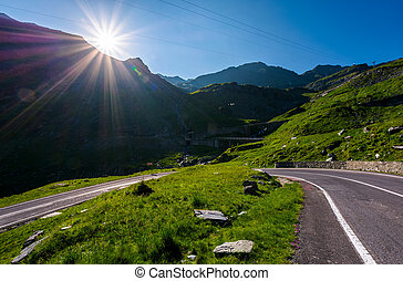 TransFagarasan road in Romania mounatins. lovely...