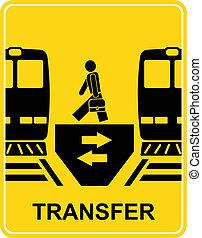 transferência, vetorial, -, sinal