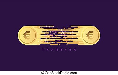 transfer., argent