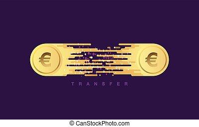 transfer., dinero