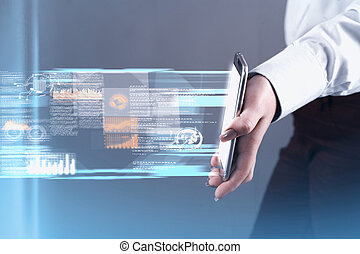 Transfering data smartphone