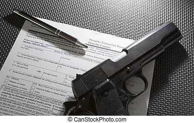 transfert, arme feu