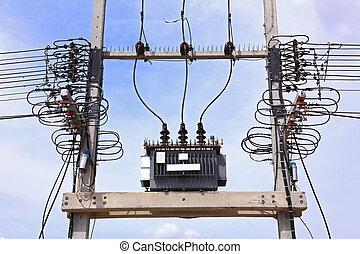 transformador, eléctrico