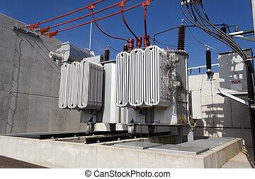 transformateur, courant électrique