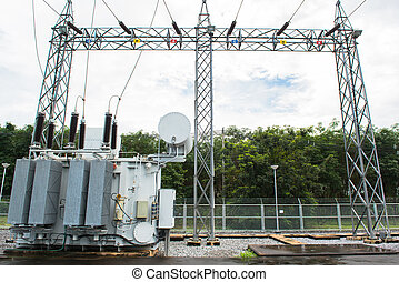 transformateur, station