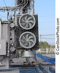 transformateur, ventilateur, puissance