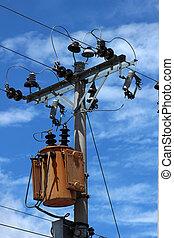 Transformer on a Pole
