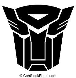 Transformers. Autobot emblem.
