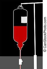 transfusión de sangre